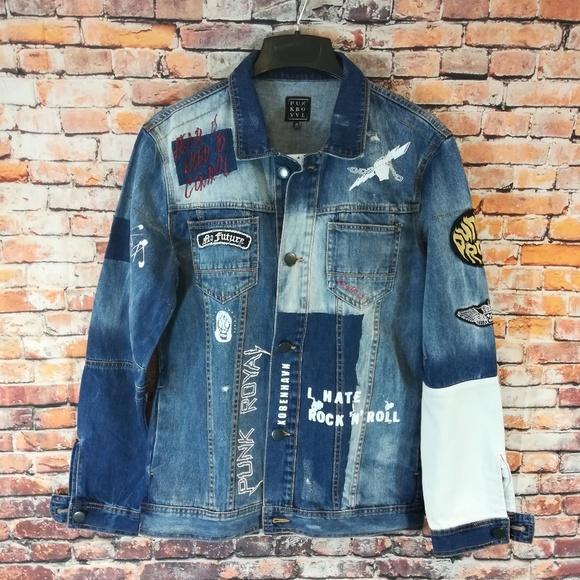 Punk Royal Other - Punk Royal Men's Denim Jacket Medium NWT